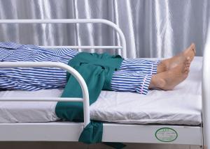 China Medical Nursing Care Magnetic Knee Medical Restraint Straps For Psychiatric Patient on sale