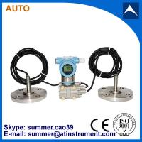 China 4-20mA output flush diaphragm differential pressure transmitter with LCD display on sale