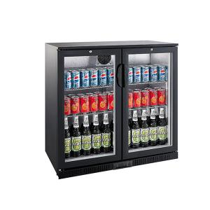 China LED Lighting Back Bar Cooler 208L Capacity With High Efficiency Compressor on sale