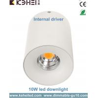 High CRI 10W Surface Mounted 10w LED Downlight with Bridgelux COB