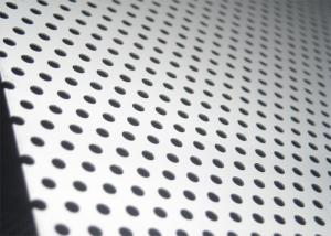 China Perforated 304 316 round hole stainless steel metal mesh plate sheets on sale