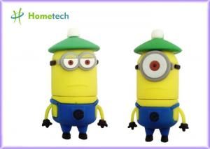 China Minion Cartoon USB Flash Drive 4GB 8GB 16GB 32GB 3D OEM Cartoon Character USB Flash Drive on sale