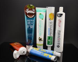 China Aluminum Toothpaste Tube Plastic Cosmetic Tubes Laminated Pacakging on sale