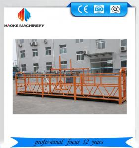 Quality ZLP800 Spraying Electric Suspended Platform For Building Facade Work for sale