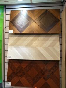 China 12.3mm MDF parquet laminate flooring , laminate flooring production line on sale