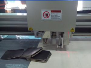 China Roll Blanket Cutting Printing Plaste Pieces Making CNC Cutting  Machine on sale