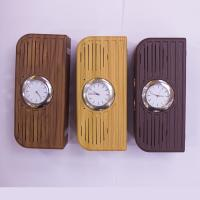 2017 newest high quality Hotel alarm clock wireless wooden bluetooth speaker with FM radio USB