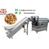 Stainless Steel Seasoning Machine For Snacks/Automatic Nut Flavoring Machine Manufacturers High Efficiency