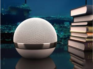 China Mini Wireless Bluetooth Speaker V4.0 Big Lithium Battery Rechargeable Metal Case on sale