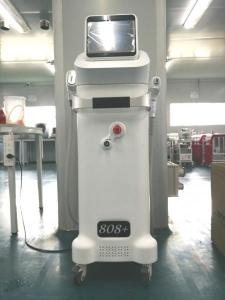 China New designed comfortable 808+ice and Thriple wavelength for option diode laser hair removal machine on sale