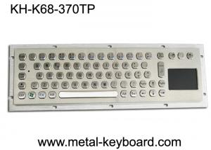 China Water Proof Industrial Computer Keyboard / Metal SS Panel Mount Keyboard with Touchpad on sale