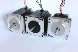 Quality Nema 23 57mm Two Phase Hybrid Precision Stepper Motor 0.9 Degree Stepper Angle for sale