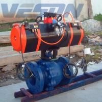 Fast Acting Explosion Proof Valve Actuator , Air Torque Pneumatic Actuator DIN Standard