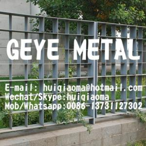 China Press Locked Steel Bar Grating Fences, Perimeter High Security Fence Grates Guard for Prison on sale