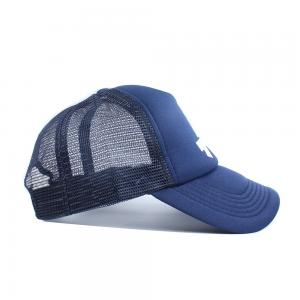 433bd92d8b8 ... Quality Summer 5 Panels Curved Bill Polyester Foam Mesh Back Trucker  Caps for sale ...