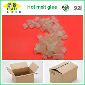 China Rubber Hot Melt Glue Packaging Granule ,  Packing Box Adhesive Non Toxic on sale