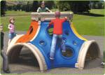 Freestanding Outdoor Site Amenities , Contemporary LLDPE Climbing Play Structure