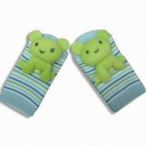 China Custom design, color soft knitted cute cotton Baby Socks on sale
