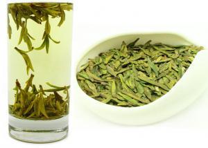 China Organic Longjing Green Tea , West Lake Dragon Well Tea With EU standard on sale