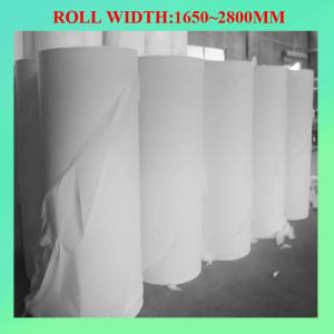 China 100% recycle toilet paper parent roll on sale