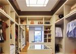 China U Shaped Closet Organizers With Soft Close Drawers , modern walk in wardrobe shoe storage wholesale