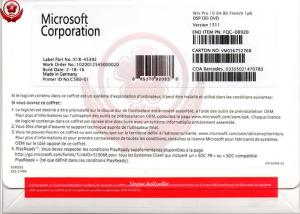 China Windows 10 Operating System Pro OEM Package 64 Bit Online Activation on sale