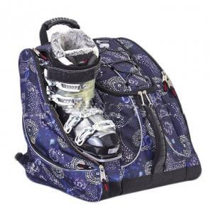 China Custom Sports Large Capacity Durable Waterproof nylon Ski Boot Bag With Helmet Space on sale