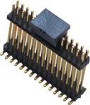 Escuro como breu masculino do conector 1.27mm do encabeçamento do Pin da fileira dupla de WCON SMT