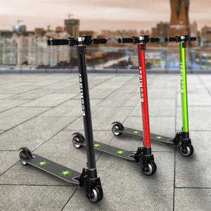 China Carbon fiber folding electric scooters for adults , 2 hour Charging time on sale