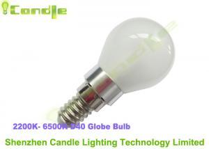 China High Power 3.0w Led Globe Bulb E14 / E17 / B22 , Frosted Glass Housing 6500k on sale