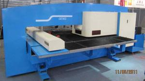 China 4 axis synchronised control CNC Punching Machine for turret punching press on sale