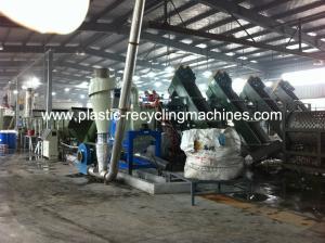 China Removedor de la etiqueta de la botella del animal doméstico del equipo/triturador/secador de reciclaje plásticos de la prensa on sale