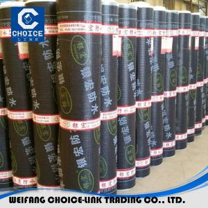 China 3.0mm SBS modified waterproofing membrane on sale