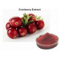 China Cranberry Standardized Extract For Uti , Cranberry Juice Extract Preventing Urinary Tract Infections on sale