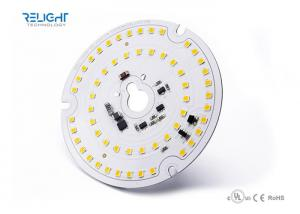 China HV / AC dimmable Round 3528 SMD LED Module with dimming triac , high power on sale