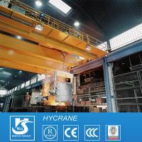 Steel Plate Lift Equipments Charging Metallurgy Cranes For Sale