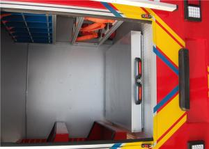 China Fire Truck Flat Tray And Alumina Alloy Material Drawer With Locking Mechanism on sale