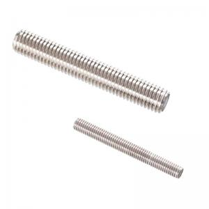 China White Carbon Steel Fully Threaded Rod , Double End Threaded Rod OEM Service on sale
