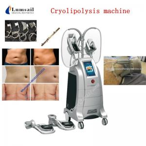 China Fat freeze cooling system and Supersonic operation systerm Cryolipolysis Body Slimming Machine on sale