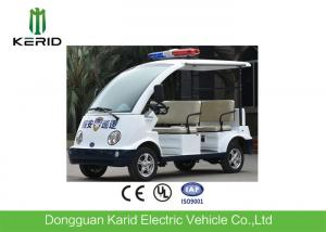China Adults 4 Seater Electric Patrol Car / Electric Club Cart With Alarm Lamp on sale