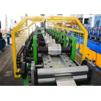 Hydraulic Cutting Metal Shutter Door Forming Machine 12 Steps 12-15 M / Min Speed