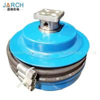 China Oil Fuel Retractable Hose Reel High Pressure 3 Channels For Construction Machinery on sale