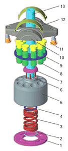 A10VG hydraulic part