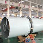 Power Plant 2.0×20m 50t/H Coal Rotary Dryer