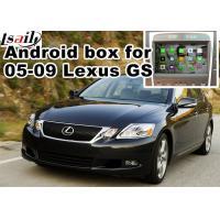 Lexus GS300 GS430 2005-2009 Car Navigation Box , mirror link video interface rear view
