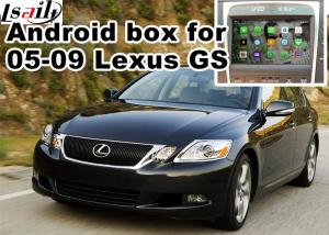 China Lexus GS300 GS430 2005-2009 Car Navigation Box , mirror link video interface rear view on sale