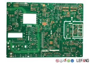 China 2 Layer High FR4 TG170 PCB , Green Solder Mask Custom Printed Circuit Board on sale