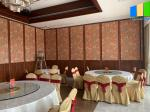 85mm Thickness Sliding Partition Walls For Banquet Hall Soundproof Customized Movable Room Divider