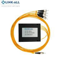 China Hot model 1x4 ABS Box Type PLC Splitter with FC/UPC connector on sale