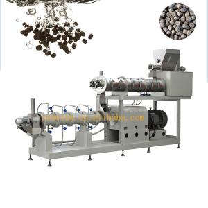 China High quality floating fish feed pellet extruder machinery automatic production line on sale